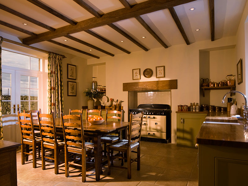 family lodge kitchen