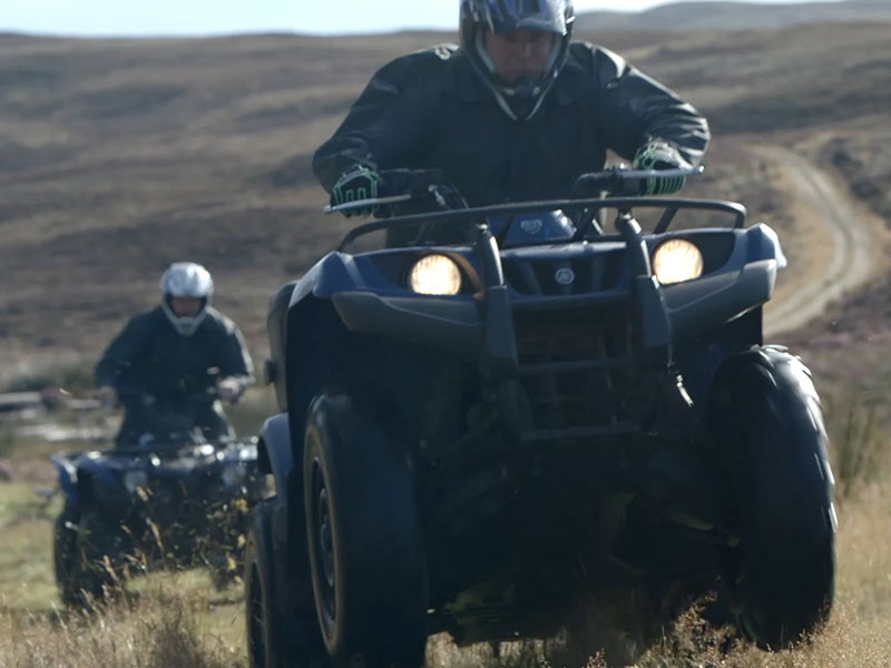 quad biking on Skibo estate