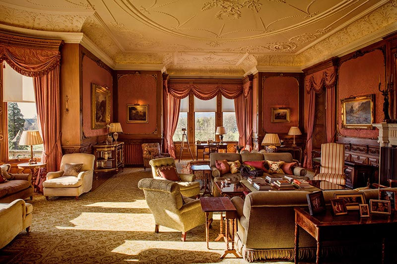 Skibo Castle morning room