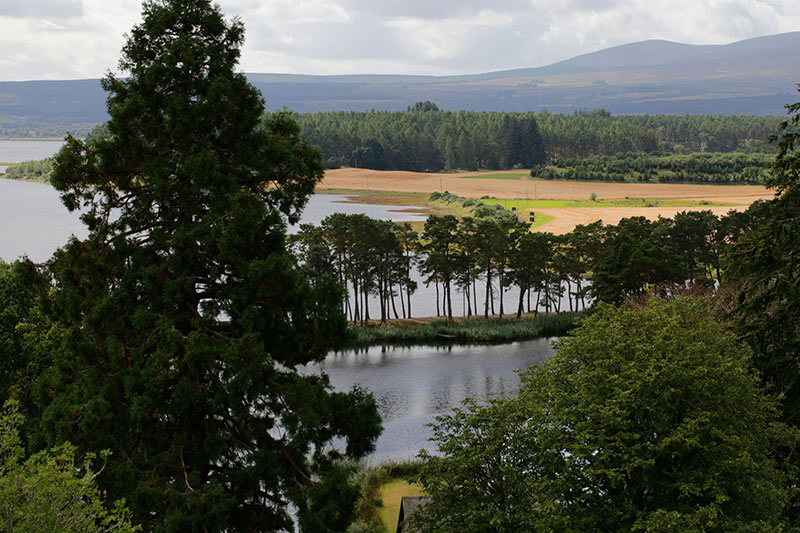 view across Skibo estate